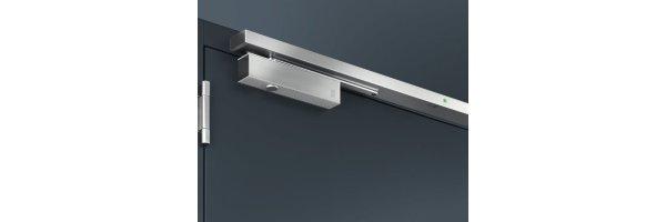 Obentürschließer einflügelige Türen mit elektromagnetischer Feststellung