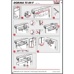 Türschließer mit Scherengestänge Dorma TS 89