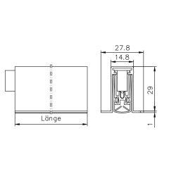Athmer Türdichtung SCHALL-EX L-15/30 OS