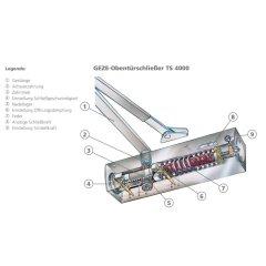 Türschließer TS 4000, EN 5-7, o....