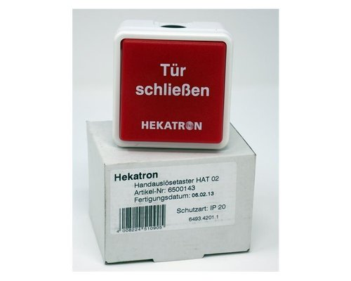 Drucktaster Hekatron HAT02 AP-/UP-MONT. 6500143