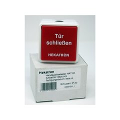 Drucktaster Hekatron HAT02 AP-/UP-MONT. 6500143