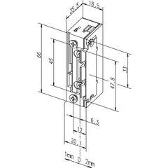 Türöffner 118E.13 ProFix2 10-24V AC/DC, mech....