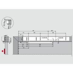 TS99FLR Set EN2-5 silberfarb. Kopfmont.BS